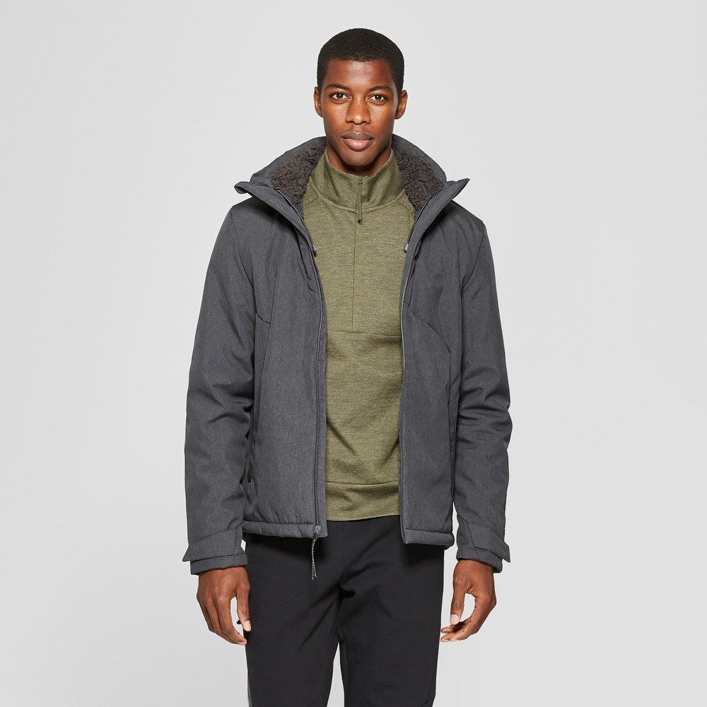 Men's Sherpa Hooded Softshell Jacket - C9 Champion Charcoal (Grey) S