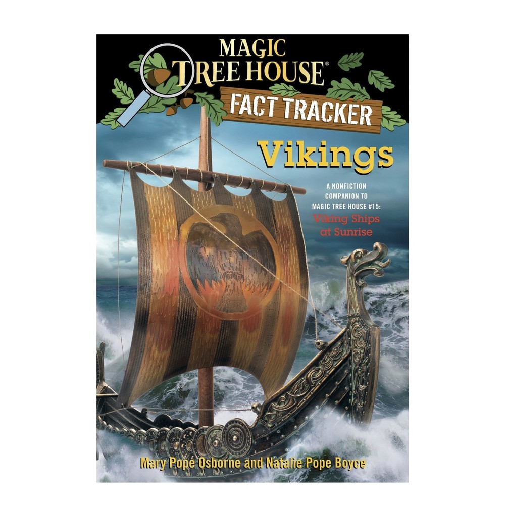 Vikings : A Nonfiction Companion to Magic Tree House #15: Viking Ships at Sunrise (Paperback) (Mary Pope