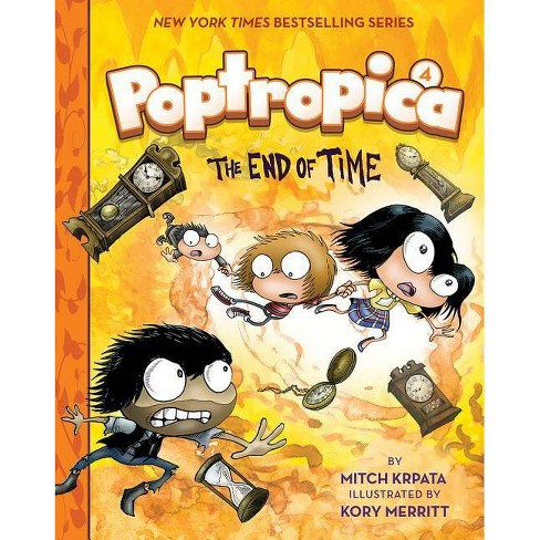 The End of Time (Poptropica Book 4) - by  Mitch Krpata (Hardcover) - image 1 of 1