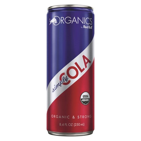 Red Bull Organics Simply Cola Energy Drink - 8.4 fl oz Can - image 1 of 1