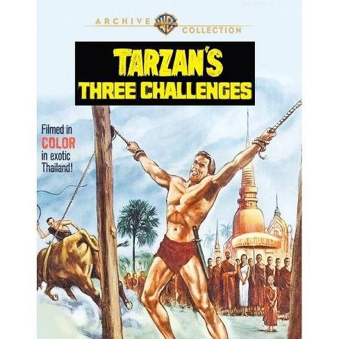 Tarzan's Three Challenges (Blu-ray)(2019) - image 1 of 1