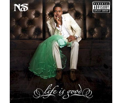 Nas - Life Is Good (Deluxe Edition) [Explicit Lyrics] (CD) - image 1 of 1