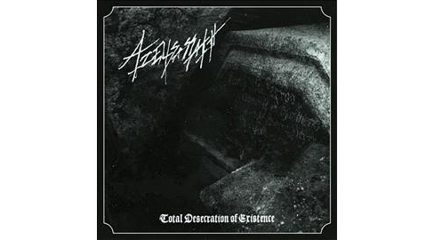 Azeliasassath - Total Desecration Of Existence (CD) - image 1 of 1