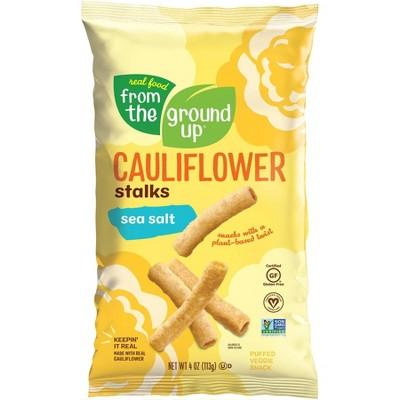 Real Food From The Ground Up Cauliflower Stalks Sea Salt - 4oz