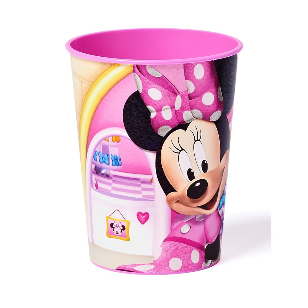 12ct Minnie Mouse Plastic Party Cups