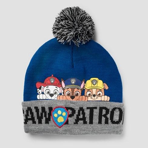 Kids  PAW Patrol Beanie - Blue One Size   Target dfc7eca9d714