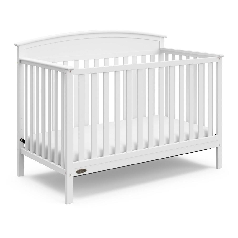 Image of Graco Benton 4-in-1 Convertible Crib - White