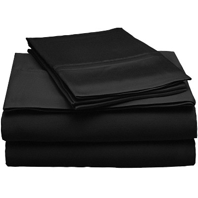 Modal from Beechwood 300-Thread Count Solid Deep Pocket Sheet Set - Blue Nile Mills
