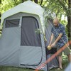 CORE Instant Camping 7 x 3.5-Foot 2-Room Utility Shower Tent with Changing Room - image 2 of 4