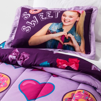 Jojo Siwa Twin Full So Sweet Comforter, Jojo Siwa Bedding Set Full