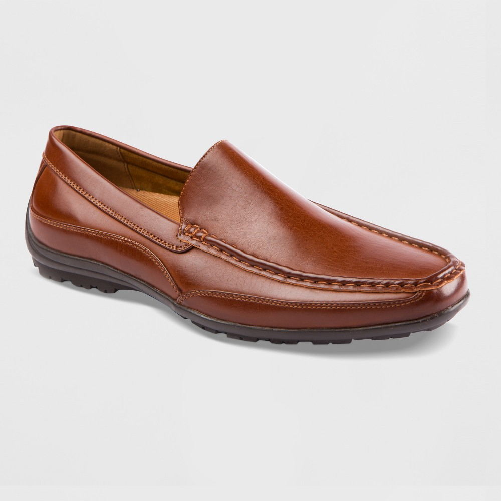 Men's Deer Stags Drive Slip-on Moc Loafers - Luggage 12