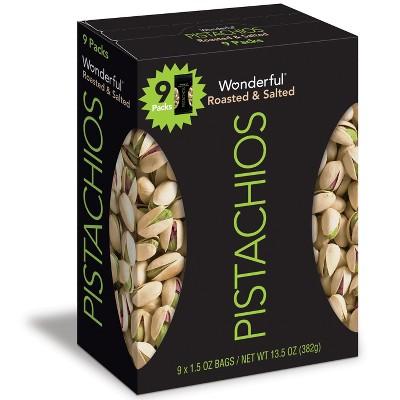Wonderful Roasted & Salted Pistachios - 13.5oz