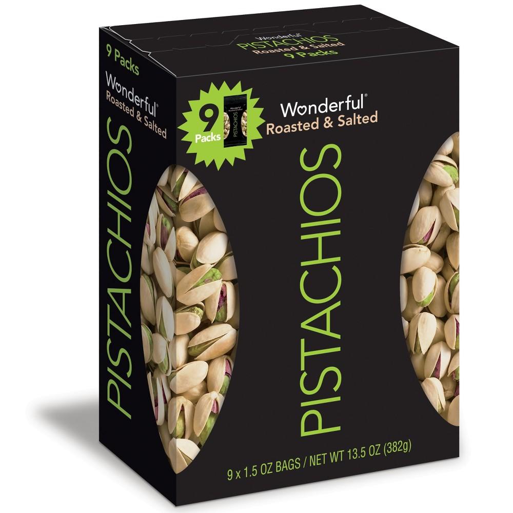 Wonderful Roasted Salted Pistachios 13 5oz