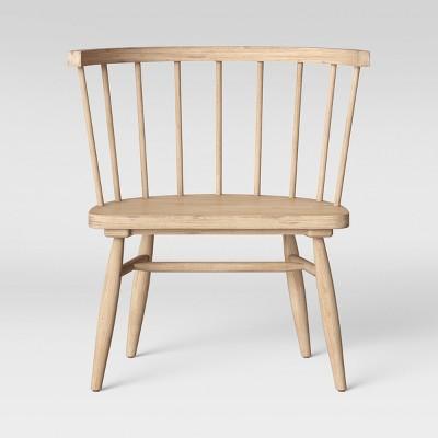 Fully Assembled Windsor Chair Light Brown - Threshold™