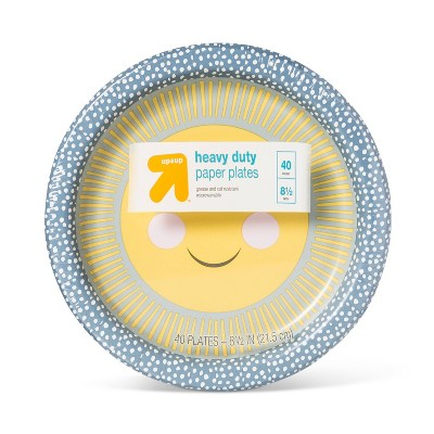 "Kids Printed Paper Plate 8.5"" - 40ct - up & up™"