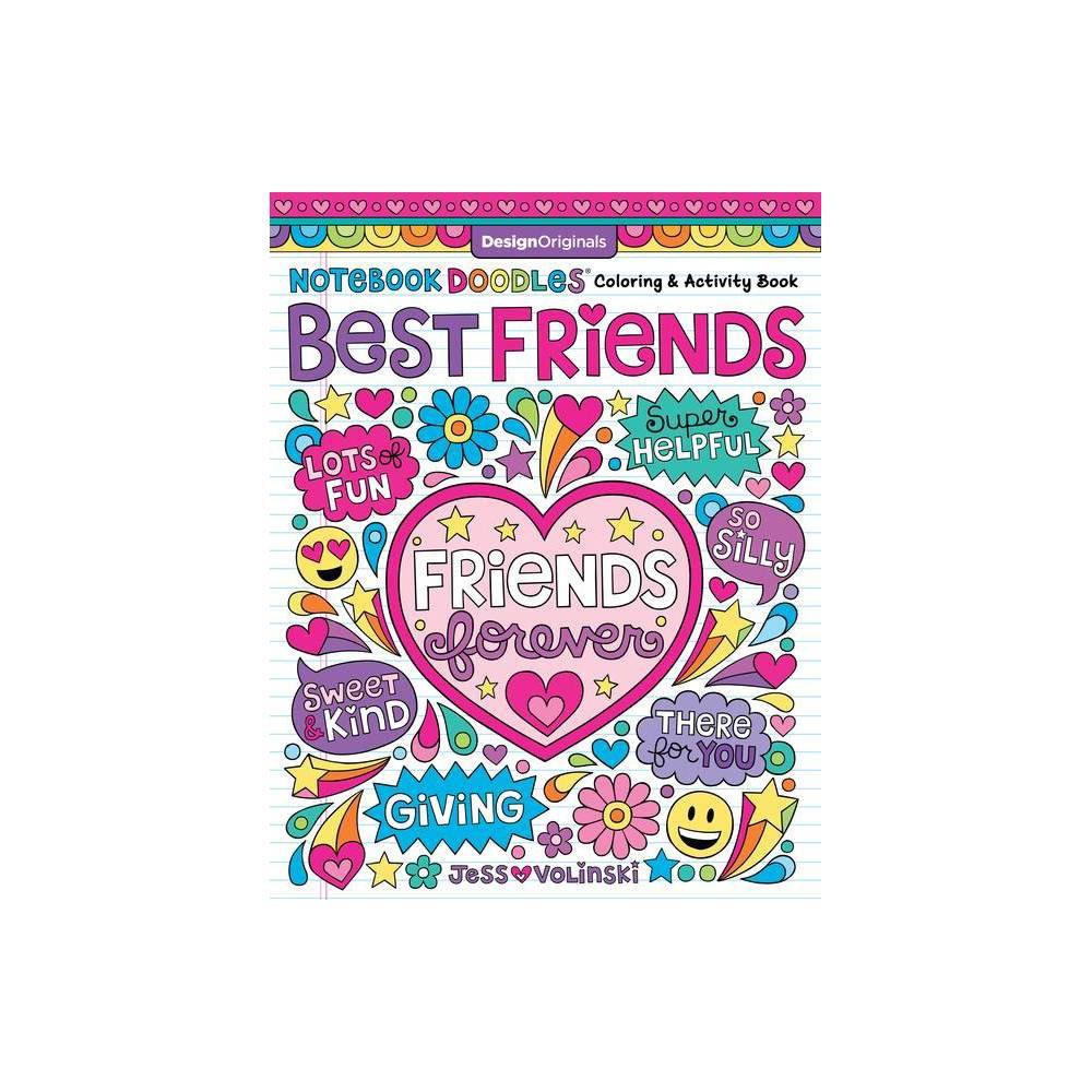 Notebook Doodles Best Friends By Jess Volinski Paperback