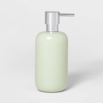 Ceramic Soap/Lotion Dispenser Silver Green - Project 62™
