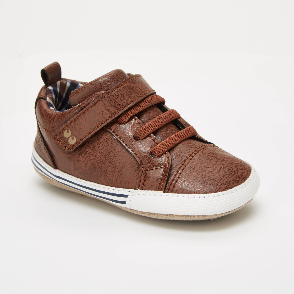 Image of Baby Boys' Surprize by Stride Rite Lee Sneaker Mini Shoes - Brown 6-12M, Boy's