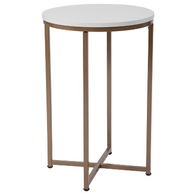 Hampstead End Table White - Riverstone Furniture