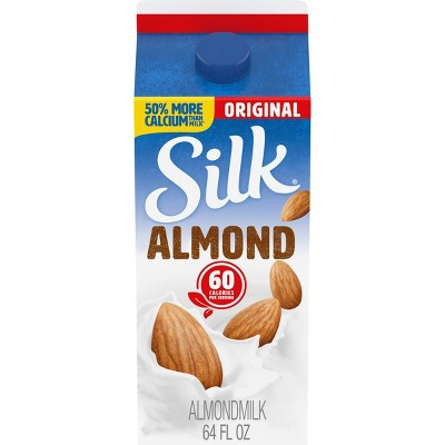 Silk Almond Original Almond Milk - 0.5gal