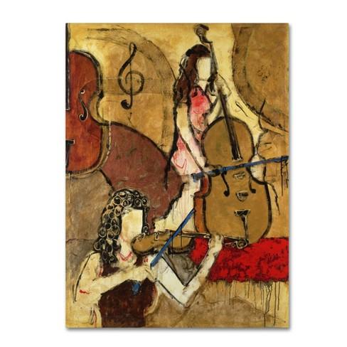 """32"""" x 24"""" Joarez 'Two Friends' Canvas Art - Trademark Fine Art - image 1 of 3"""