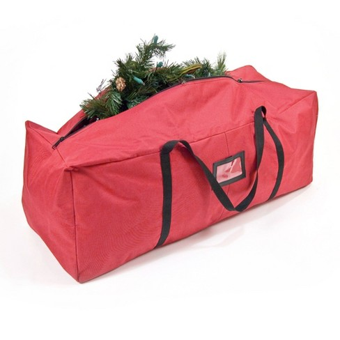 """TreeKeeper 36"""" Storage Bag Polyester Red - image 1 of 4"""