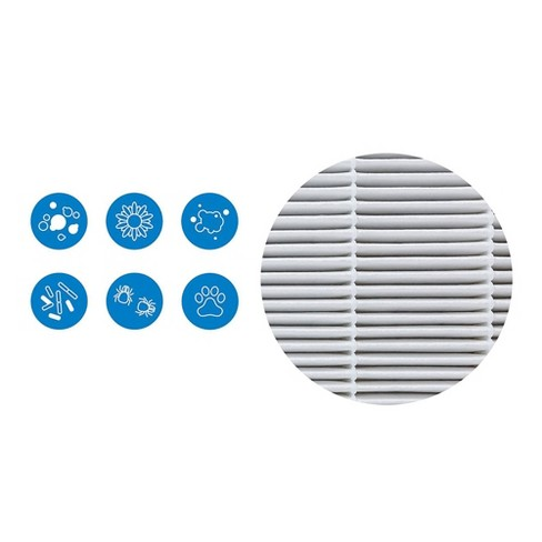 Blueair 500/600 series Particle Air Control Filter Kit White - image 1 of 2