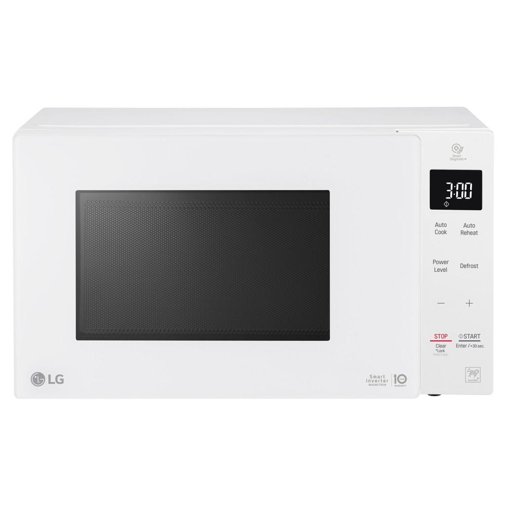 LG .9 cu ft Smart Inverter Countertop Microwave - White LG .9 cu ft Smart Inverter Countertop Microwave - White