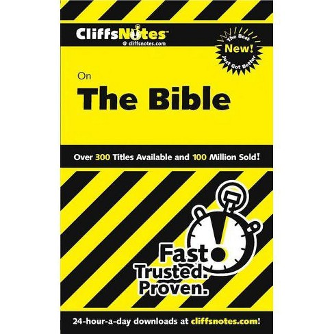 Cliffsnotes on the Bible, Revised Edition - (Cliffsnotes Literature Guides) by  Charles H Patterson - image 1 of 1