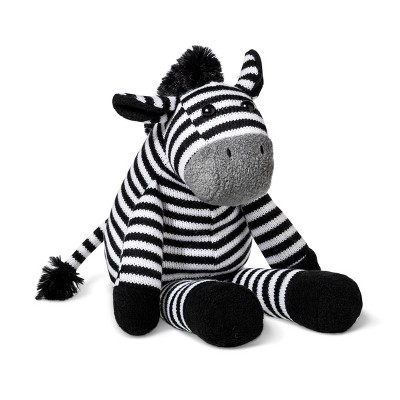 Plush Zebra - Cloud Island™ Black/White