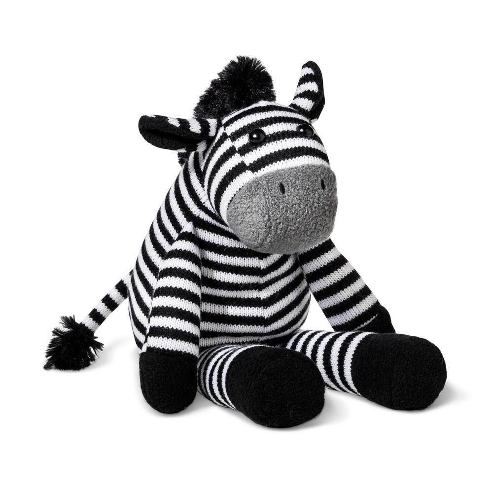 Plush Zebra - Cloud Island Black/White