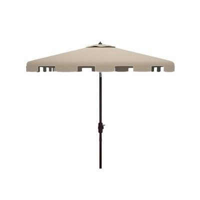 7.5' Square Zimmerman Market Umbrella - Safavieh