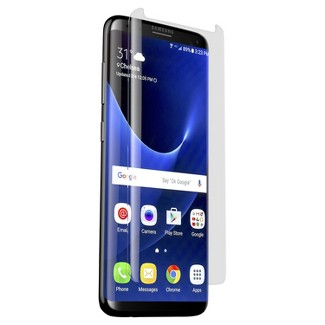 Zagg Curved Glass Screen Protector - Samsung Galaxy S8