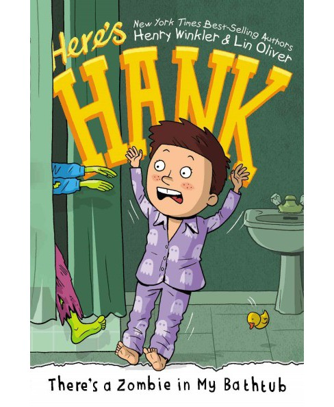 There's a Zombie in My Bathtub (Paperback) (Henry Winkler & Lin Oliver) - image 1 of 1