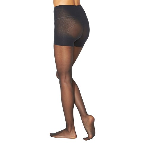 6655d7fd39 Hanes Solutions Women s Sheer Hi Waist Shaping Pantyhose   Target