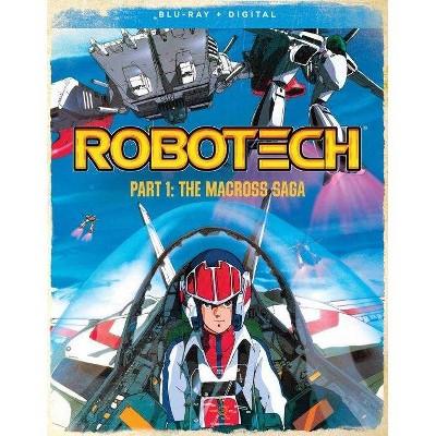 Robotech: Part 1 The Macross Saga (Blu-ray)(2021)