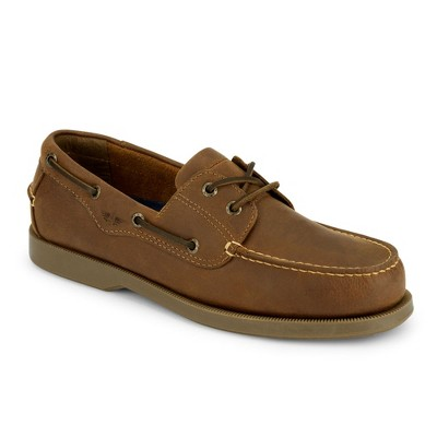 Dockers Mens Castaway Leather Casual Classic Boat Shoe - Wide Widths Available