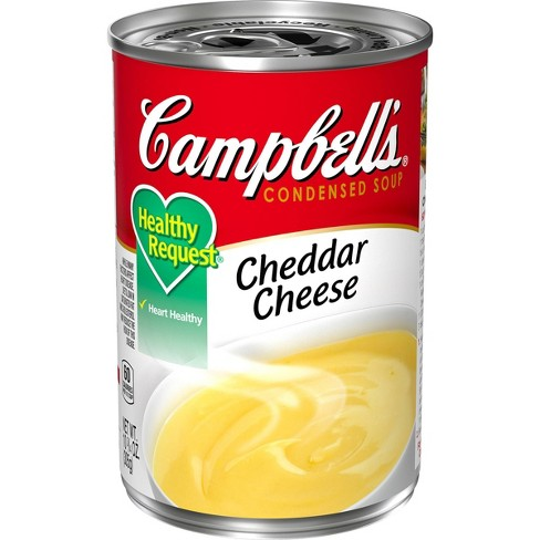 Campbell's Condensed Healthy Request Cheddar Cheese Soup 10.75oz - image 1 of 4