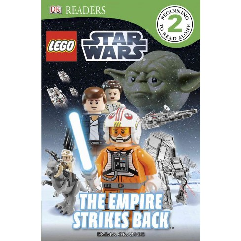 DK Readers L2: Lego Star Wars: The Empire Strikes Back - (DK Readers Level 2) by  Emma Grange - image 1 of 1