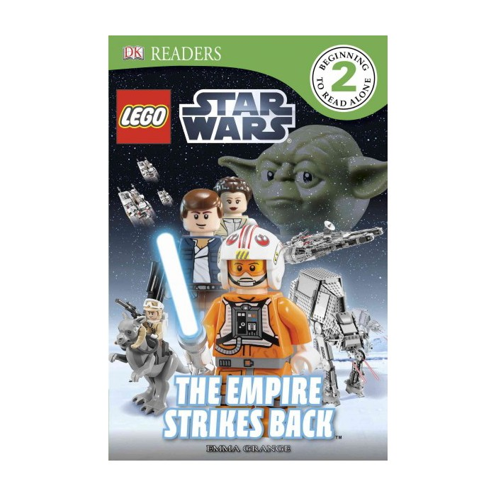 DK Readers L2: Lego Star Wars: The Empire Strikes Back - (DK Readers Level 2) by  Emma Grange - image 1 of 1
