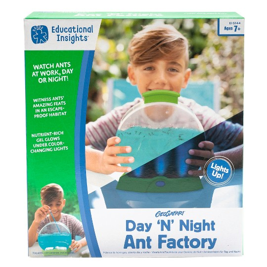 Educational Insights GeoSafari Day 'N' Night Ant Factory image number null