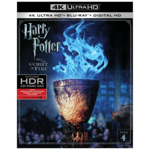 Harry Potter And The Goblet Of Fire (4K/UHD + Blu-ray + Digital)