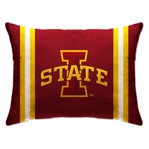 """NCAA Iowa State Cyclones 20""""x26"""" Standard Logo Bed Pillow - image 1 of 1"""