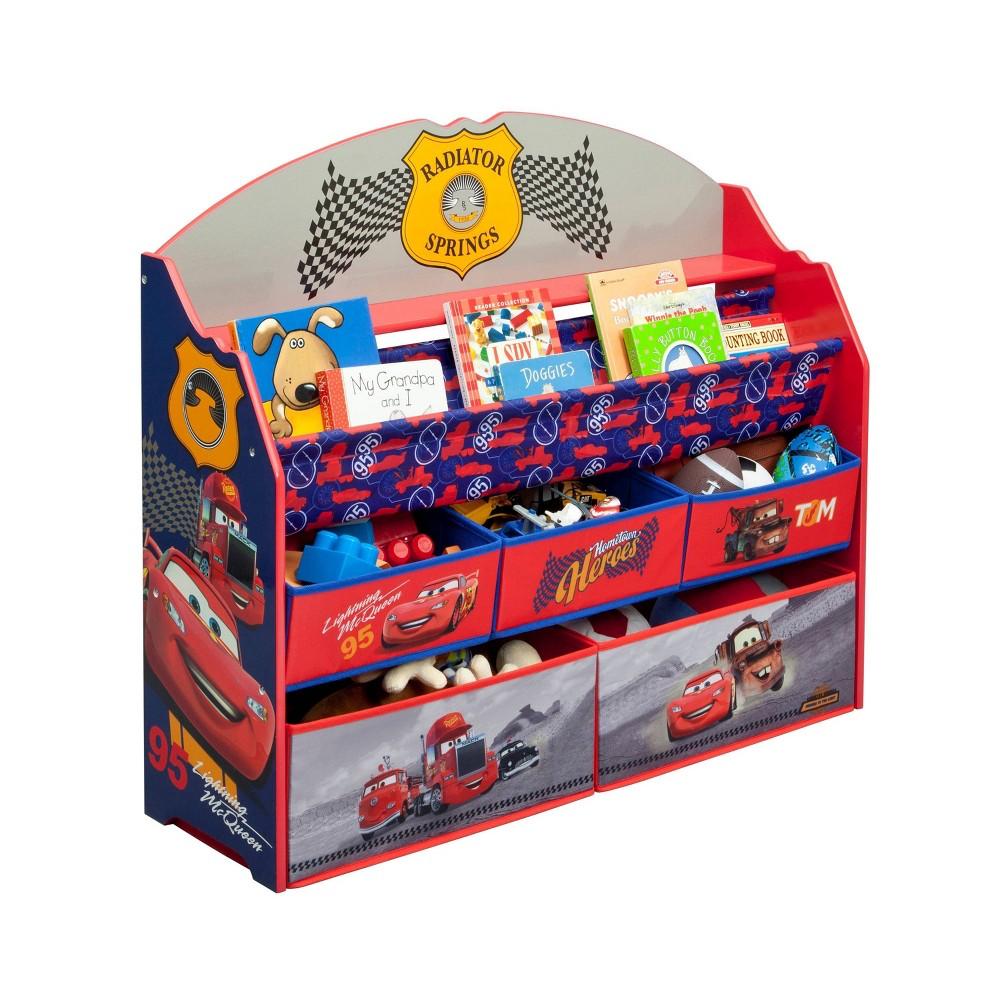 Image of Disney Pixar Cars Deluxe Book & Toy Organizer - Delta Children