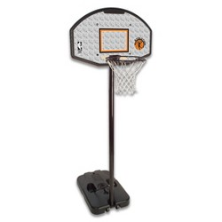 "Spalding NBA 44"" Eco-Composite Portable Basketball Hoop"