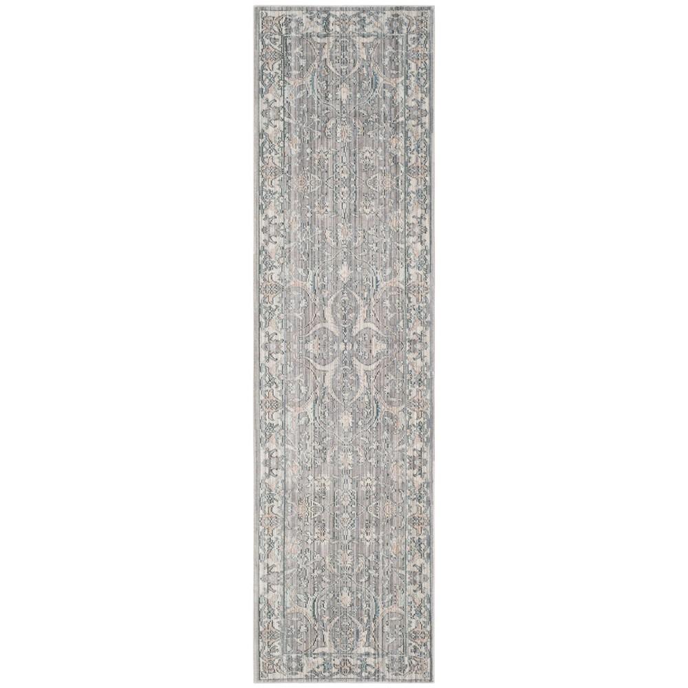 2'3X12' Floral Loomed Runner Rug Mauve/Cream (Pink/Ivory) - Safavieh