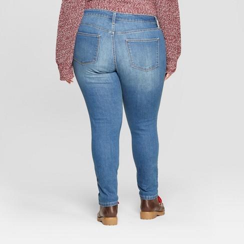e06860cbd0d Women's Plus Size Jeggings - Universal Thread™ Medium Wash : Target