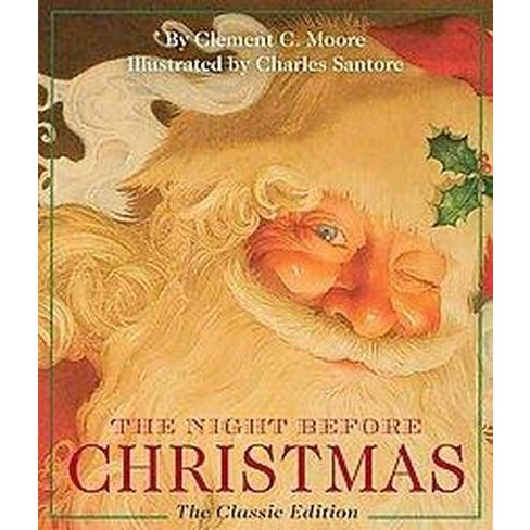 The Night Before Christmas - (Little Seedling Edition) by  Clement Moore (Hardcover) - image 1 of 1