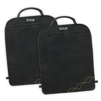 Munchkin Brica Deluxe Kick Mats - Black 2pk