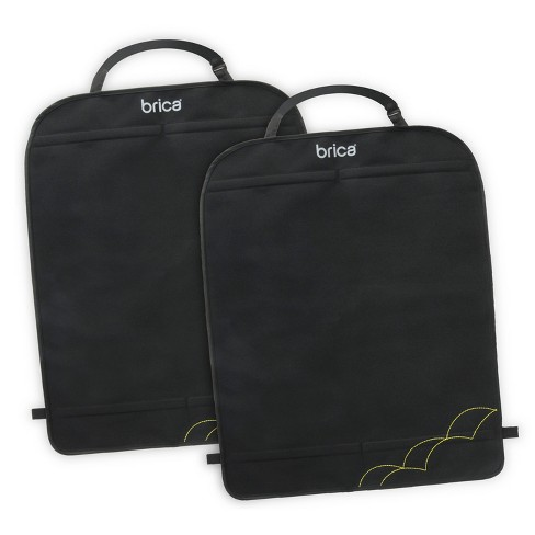 Munchkin Brica Deluxe Kick Mats - Black 2pk - image 1 of 4